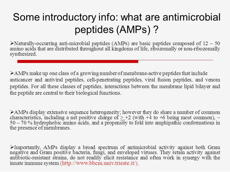 Action mechanisms of AMPs N.Sitaram, R.