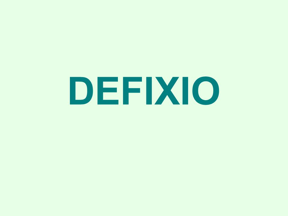 DEFIXIO