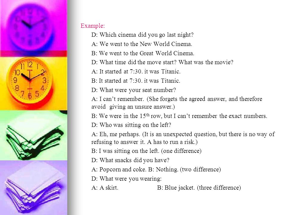 2.What would you like. Directions: Look at the following pictures.