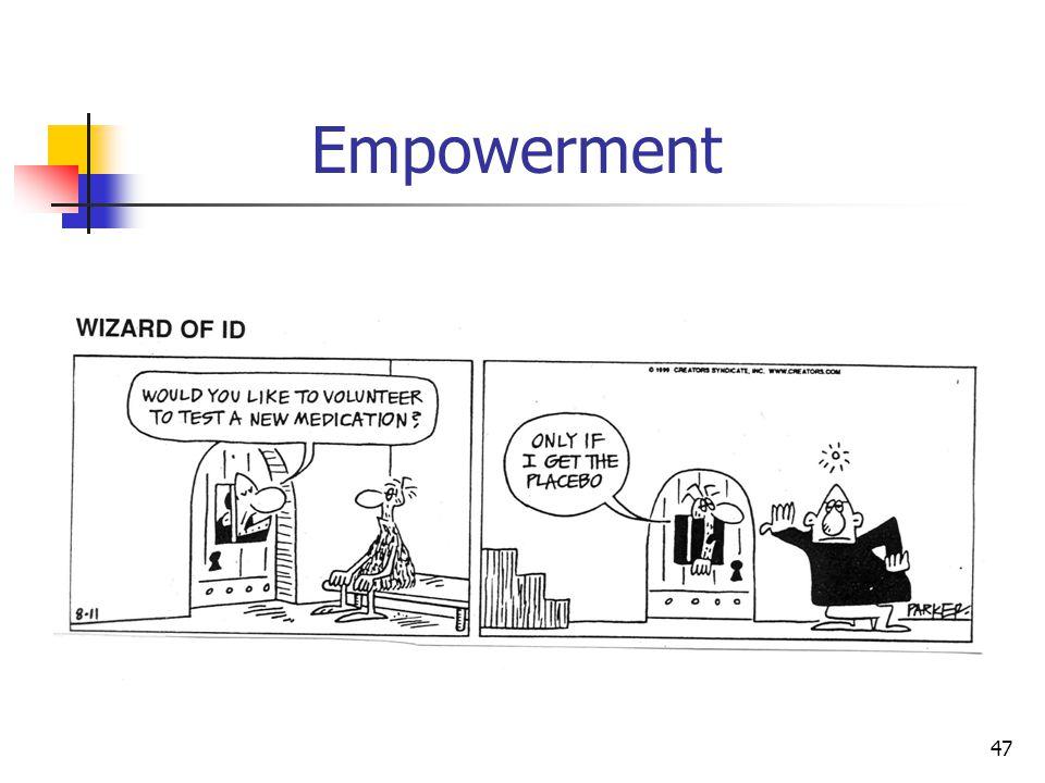 47 Empowerment