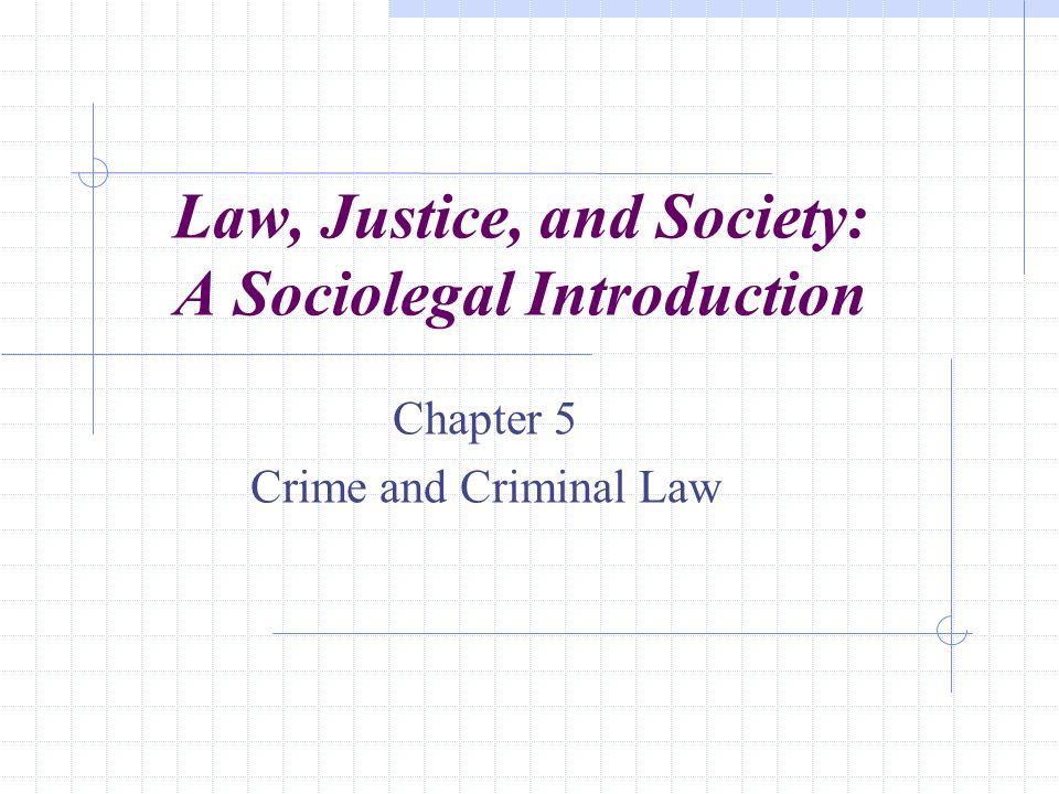 Criminal law, a.k.a.