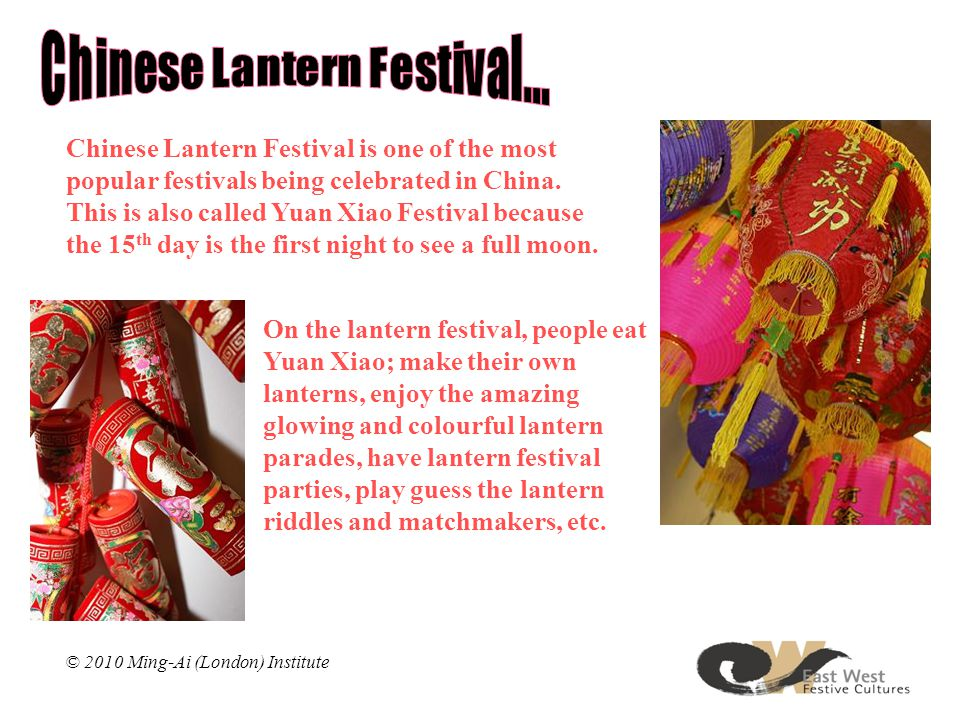 Chinese Lantern Festival is one of the most popular festivals being celebrated in China.