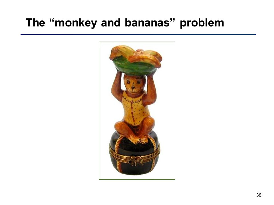 38 The monkey and bananas problem