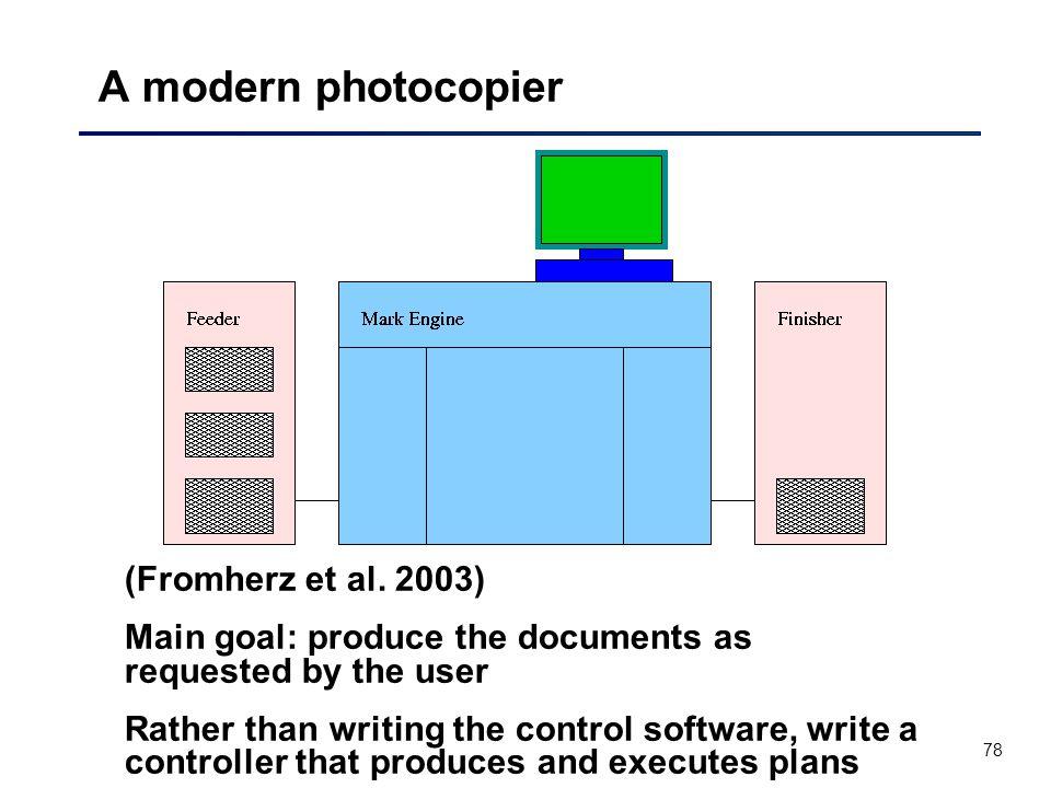 78 A modern photocopier (Fromherz et al.