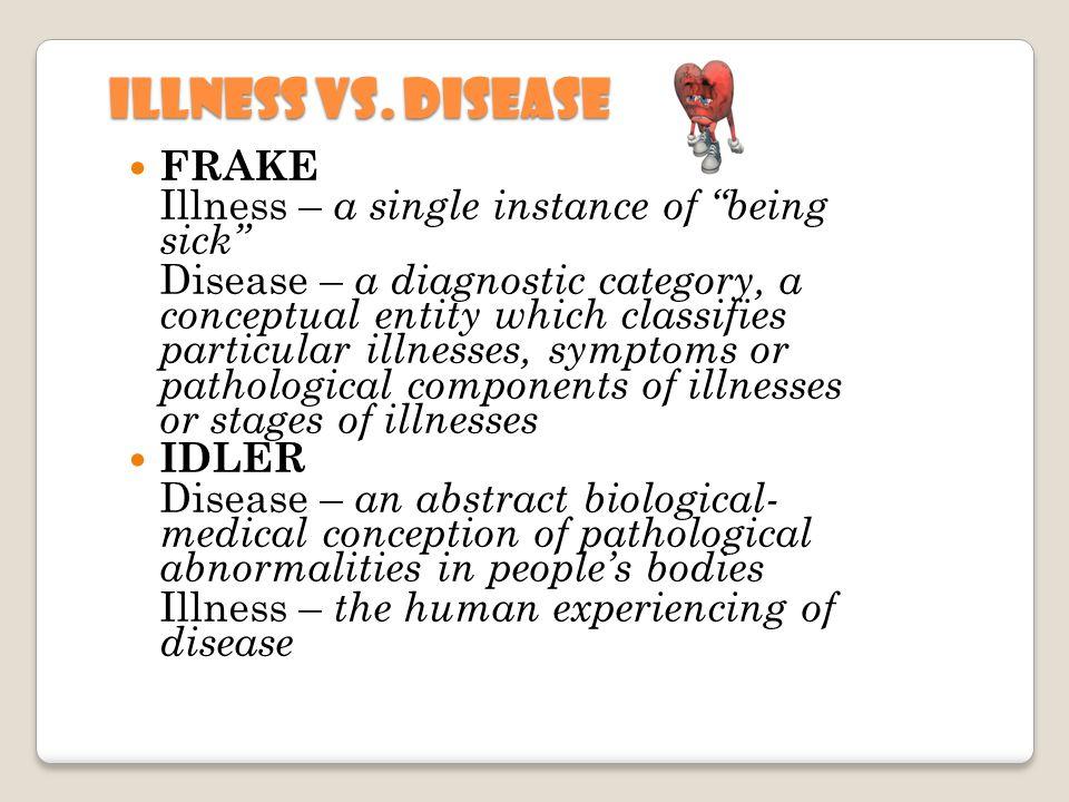 Illness vs.