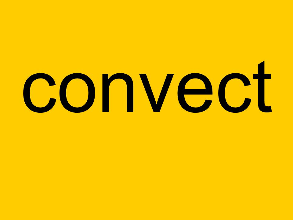 convect