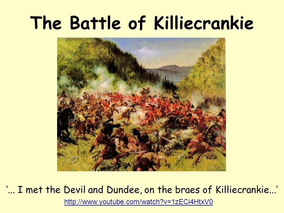The Battle of Killiecrankie '...
