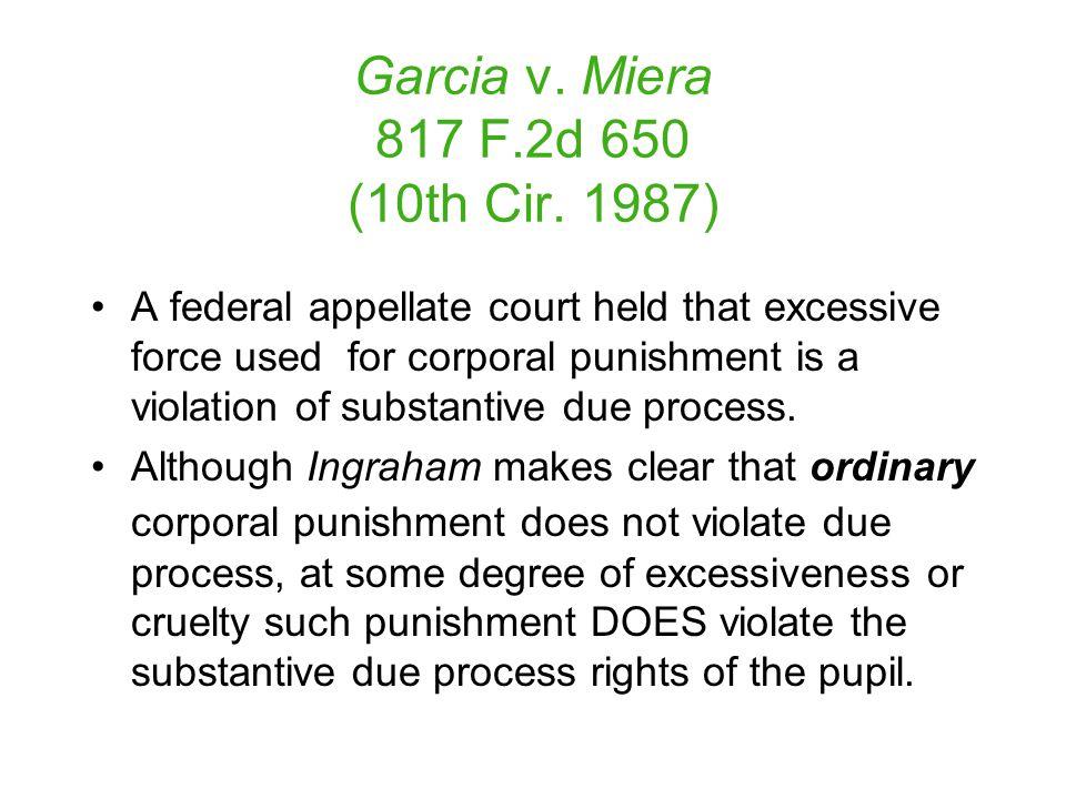 Garcia v. Miera 817 F.2d 650 (10th Cir.