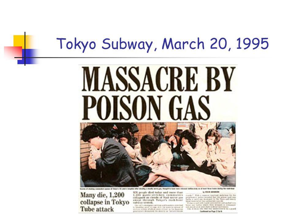Tokyo Subway, March 20, 1995