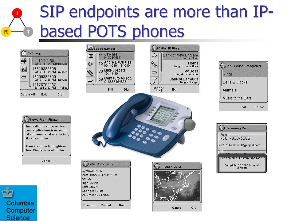 SIP endpoints are more than IP- based POTS phones