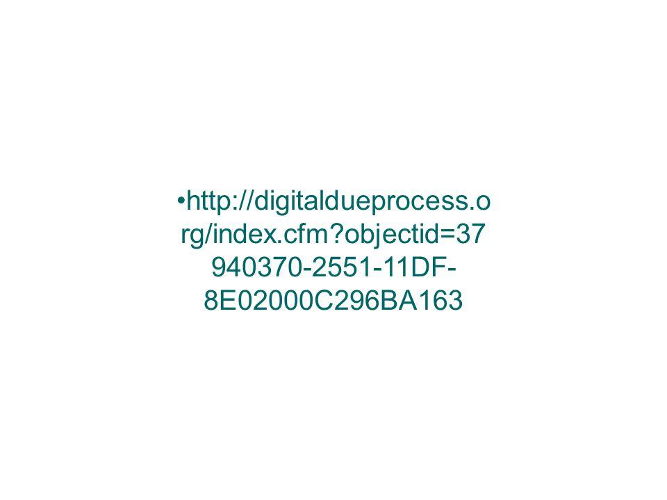 http://digitaldueprocess.o rg/index.cfm?objectid=37 940370-2551-11DF- 8E02000C296BA163