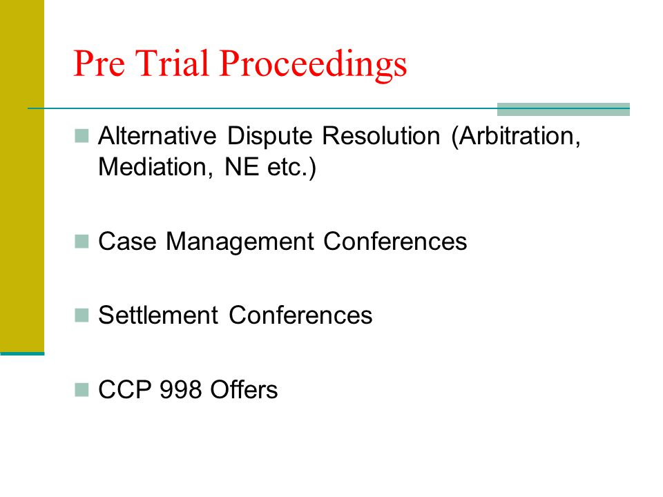 Discovery—Limited Jurisdiction CCP §94 Combination of 35 Interrogatories, Demands to Produce and Admissions One deposition per party Med Exam and Expe