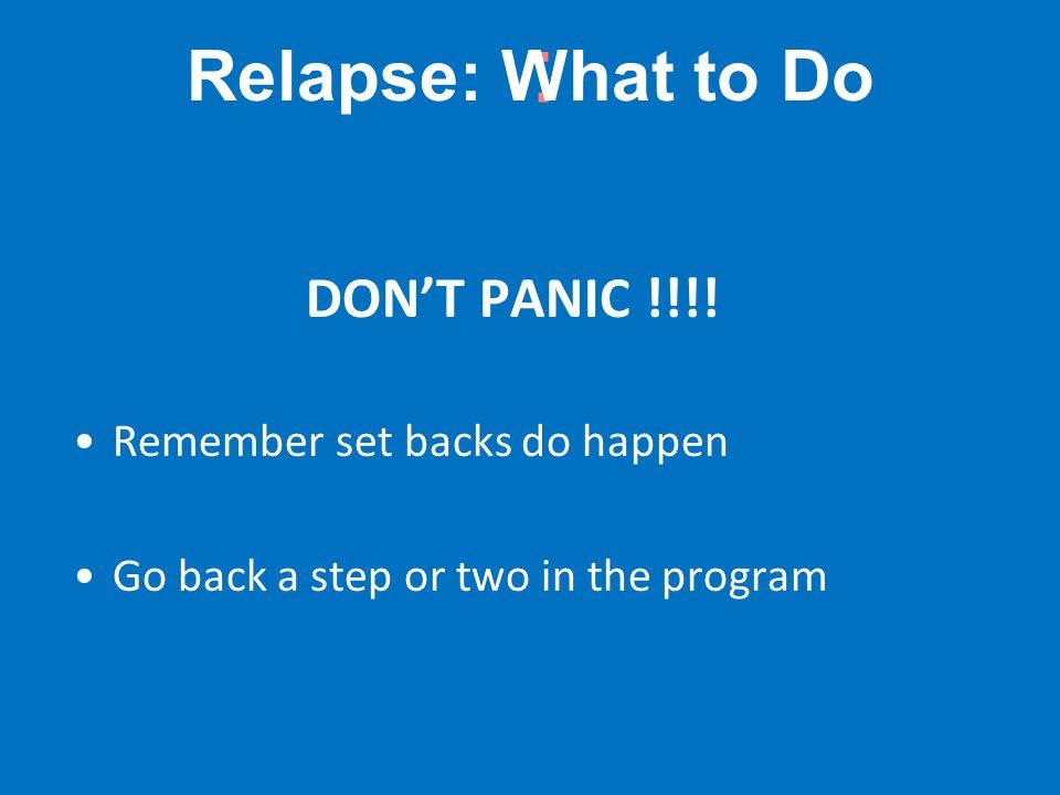 : DON'T PANIC !!!.