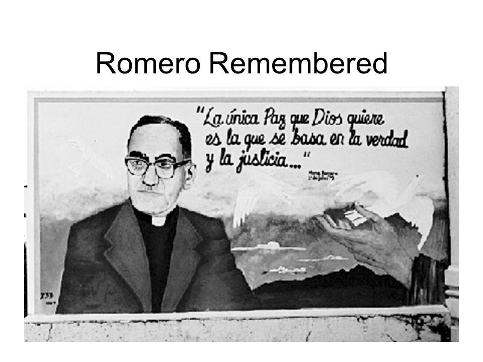Romero Remembered
