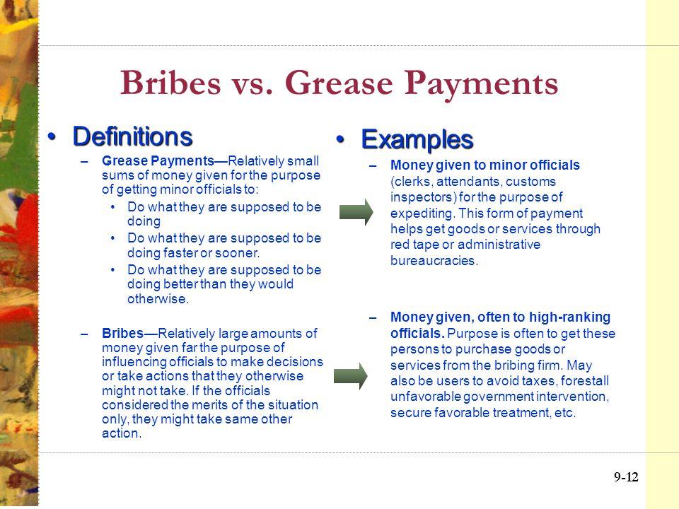 9-11 Trends Against Bribery 9-14