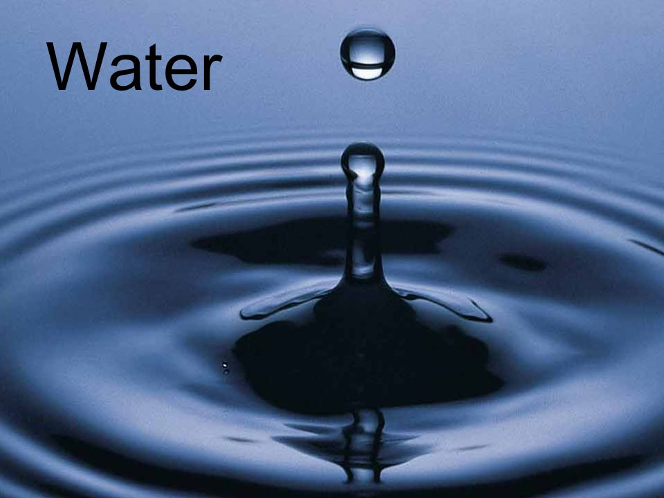 Chapter 14 Water Water