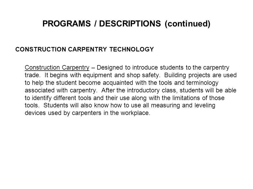 INTERNET/COMPUTER USE POLICY (Continued) 4.Copy any of the copyrighted software provided by the Wayne County Area Technology Center.