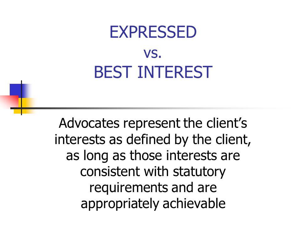 EXPRESSED vs.