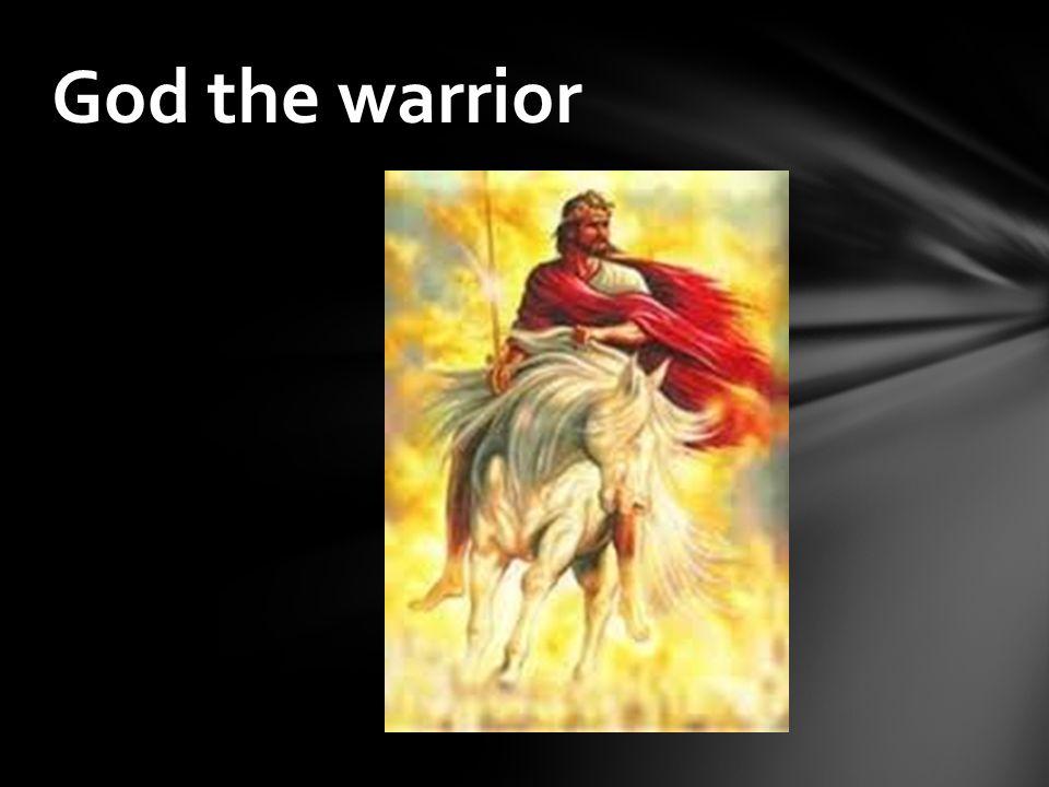 God the warrior