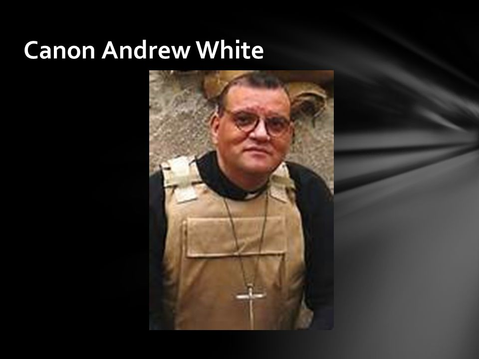 Canon Andrew White