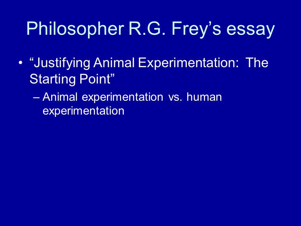 Philosopher R.G.