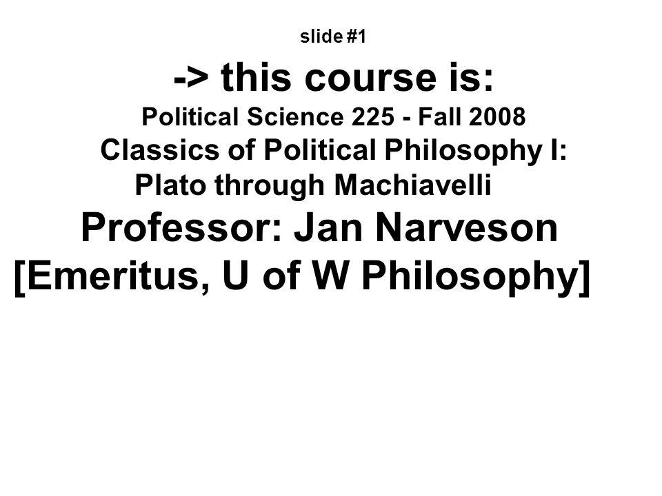 Crito slide # 12 The Argument 1.