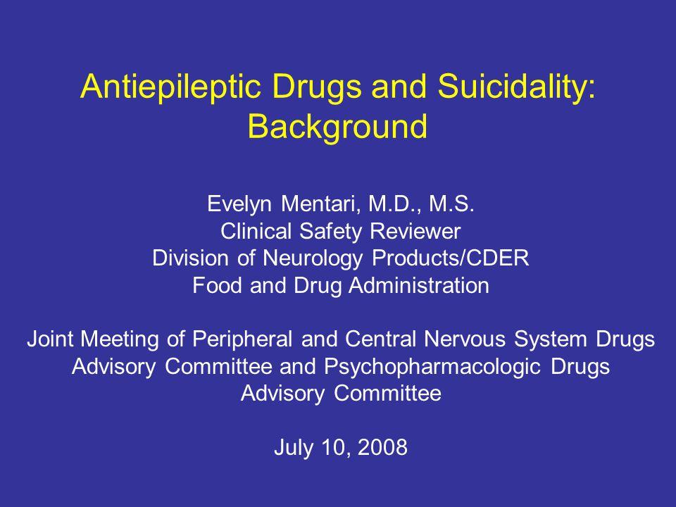 2 Definition Suicidality: Suicidal Behavior or Suicidal Thinking