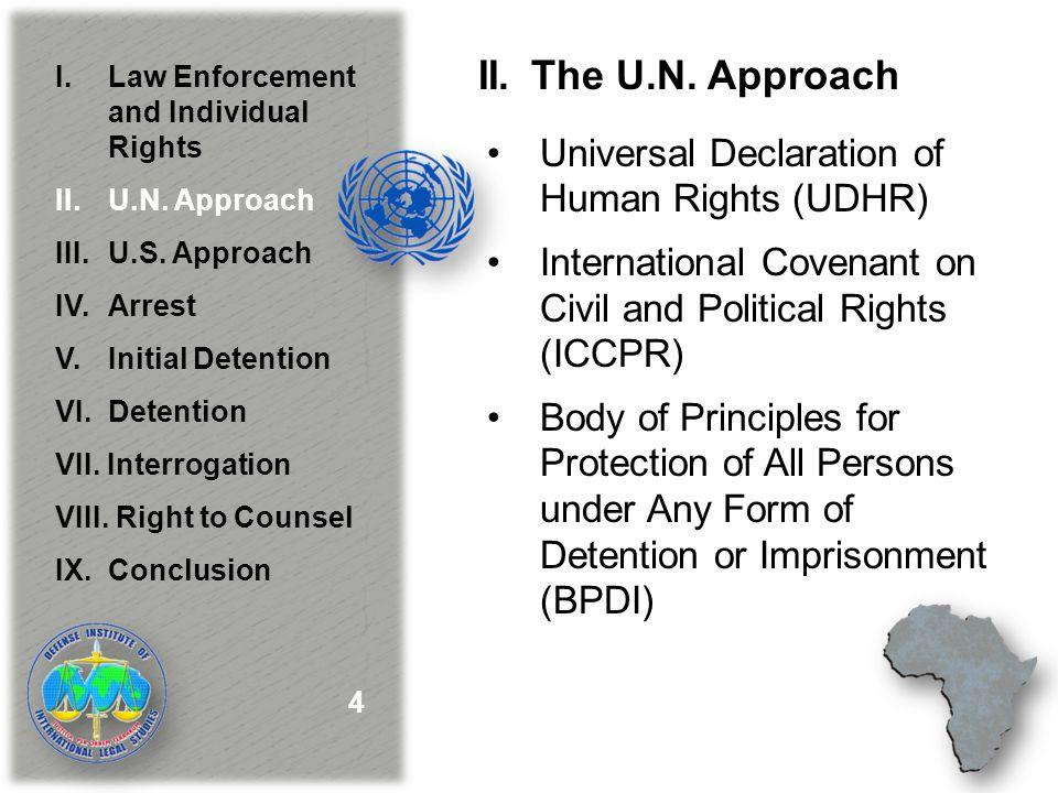 II.The U.N.