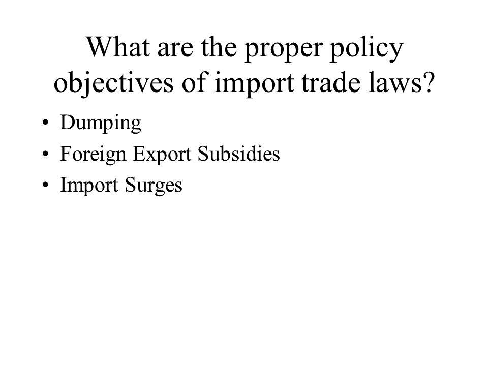 Dumping On Free Trade: The U.S. Author: Joseph E. Stiglitz By Tomika and Terriann