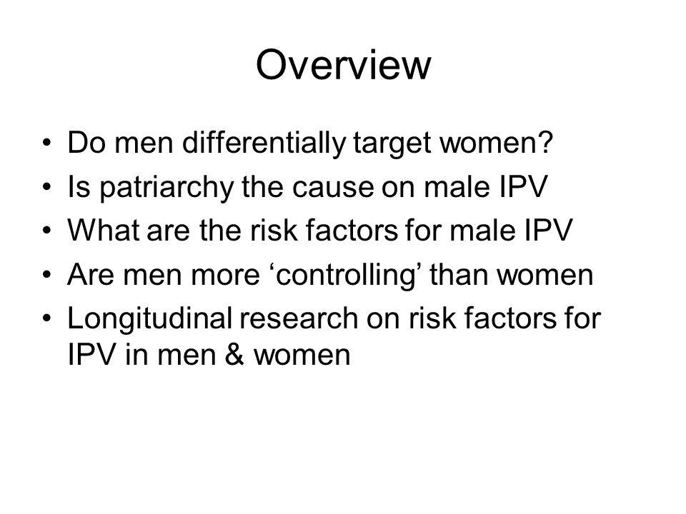 Do Men Target Women.