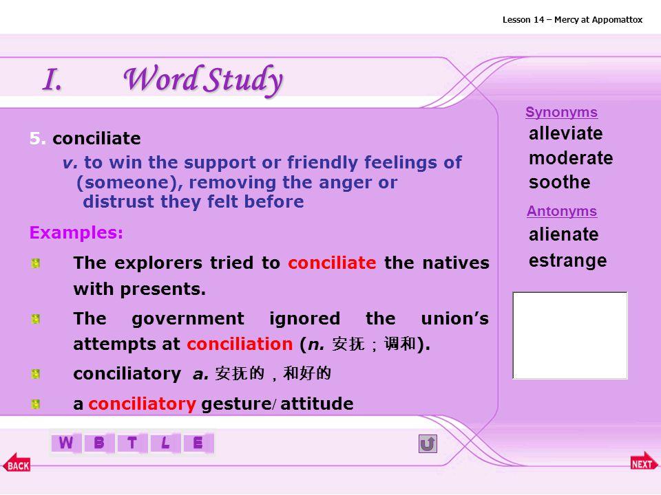 BTLEW I.Word Study 4. bind v.
