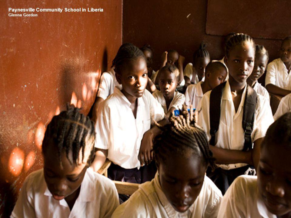 Paynesville Community School in Liberia Glenna Gordon