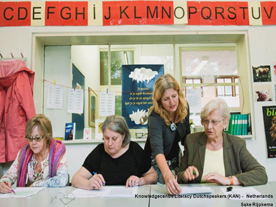 Knowledgecentre Literacy Dutchspeakers (KAN) - Netherlands Sake Rijpkema