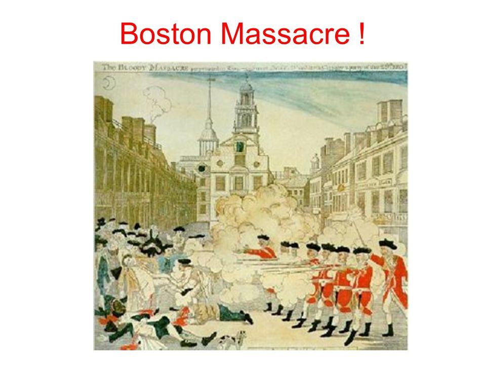 Boston Massacre !