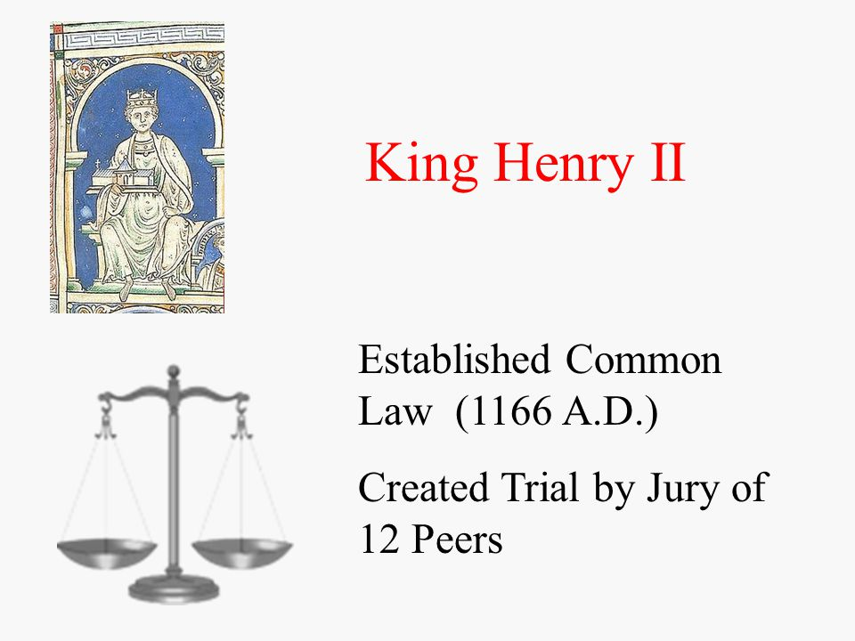 King John Lackland Signs Magna Carta (1215) -Establishes Due Process of Law - Trials and Punishments by law - Arrests and Warrants - Tax increases must be approved by voters - Power shifts from King to House of Lords