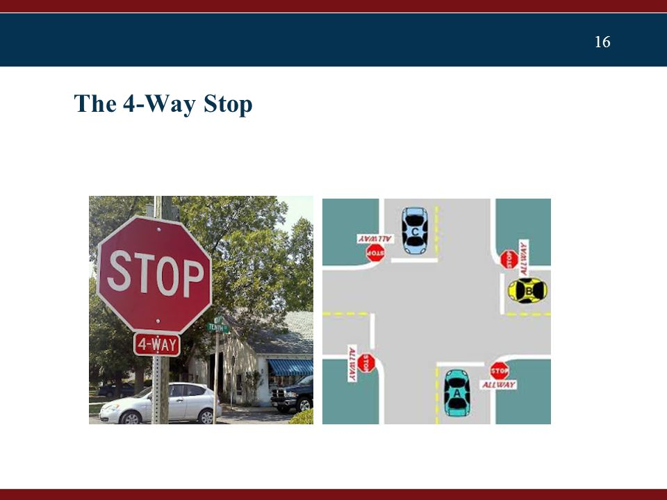 16 The 4-Way Stop