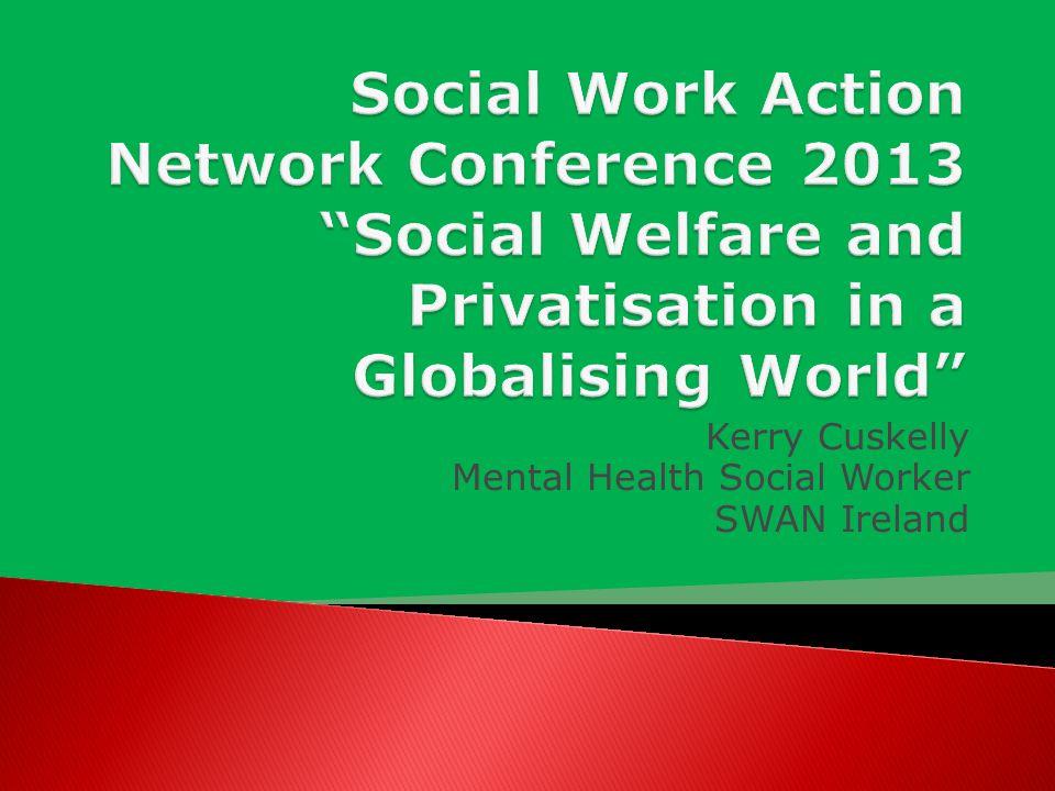 Kerry Cuskelly Mental Health Social Worker SWAN Ireland