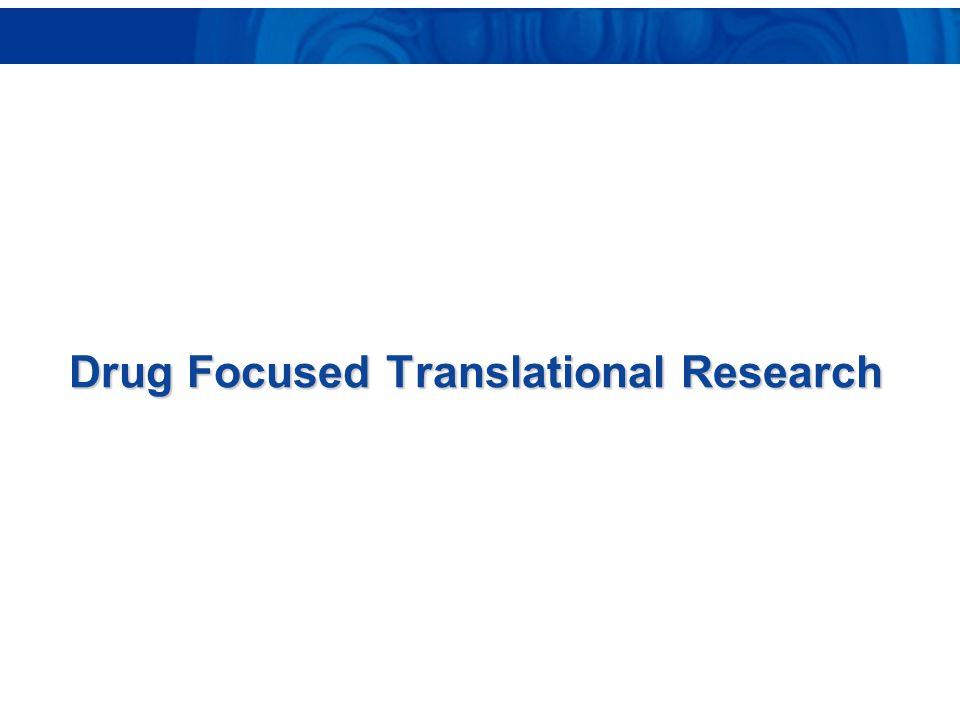 Drug Focused Translational Research