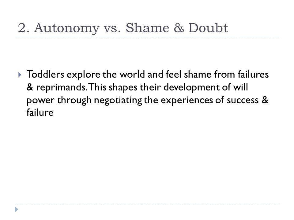 2. Autonomy vs.