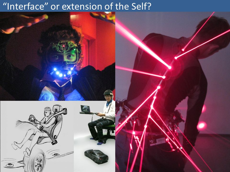 """Interface"" or extension of the Self?"