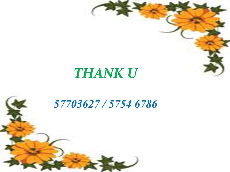 THANK U 57703627 / 5754 6786