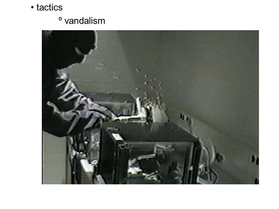 tactics º vandalism