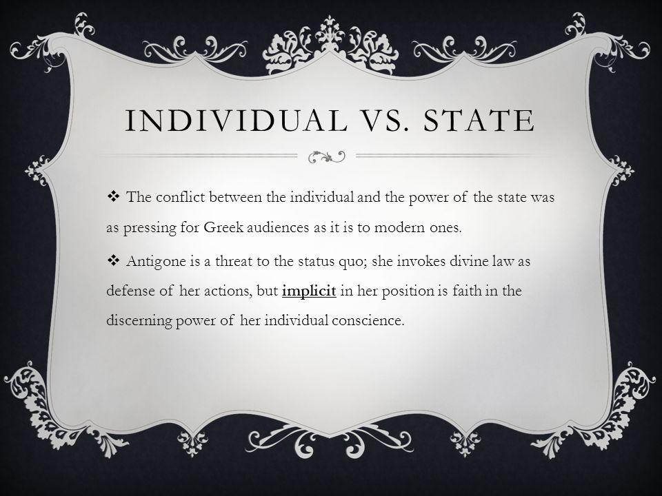 MORAL LAW VS.