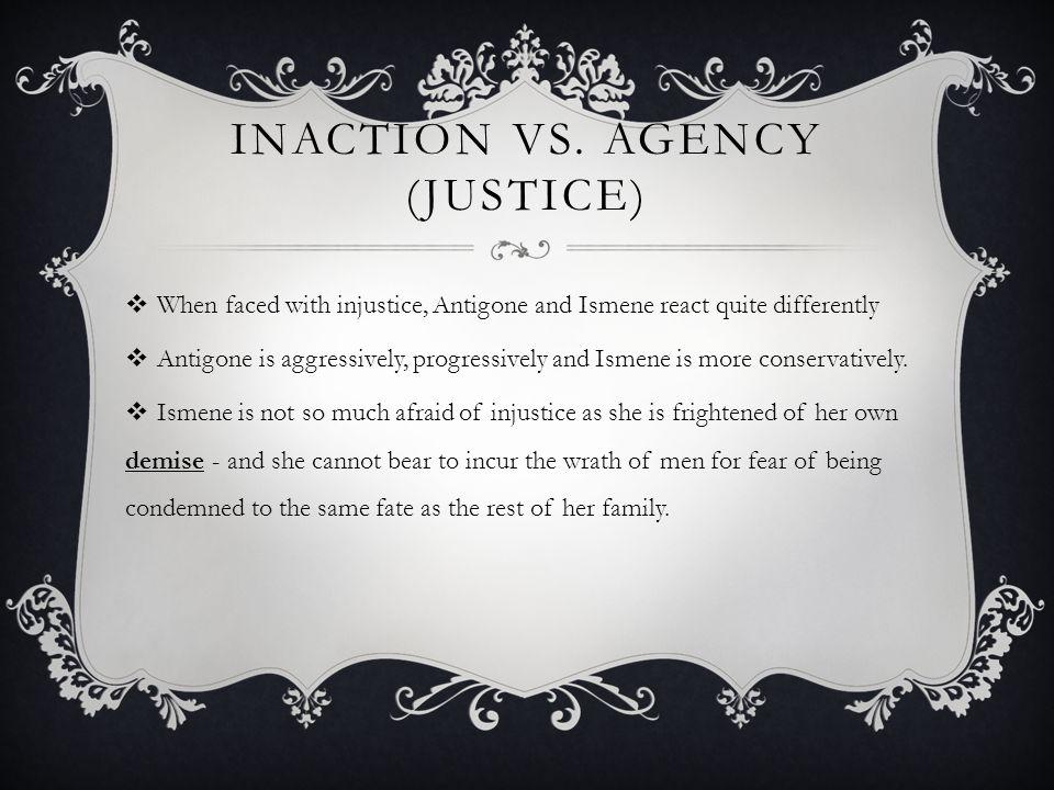 INACTION VS.