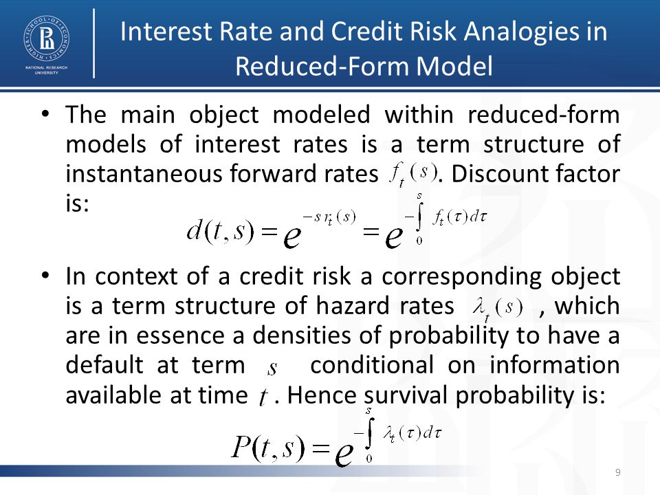 Double HJM Equations 10 The joint uncorrelated model gives a nonparametric approach to snapshot yield curve and default intensity fitting.