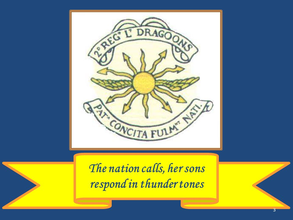 The nation calls, her sons respond in thunder tones 3