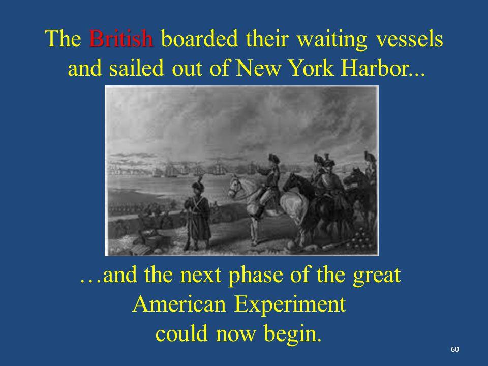 """Evacuation Day"" – – Lithographers: E.P. & L. Restein ca. 1789 Washington Afterward, Washington led the parade following the British to the ships wait"