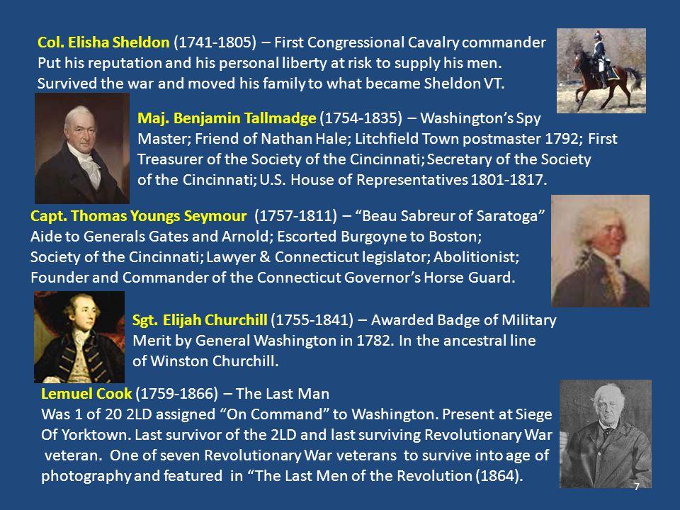 Gen.George Washington – America's first spy master.