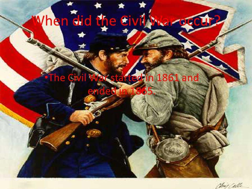Who was involved in the Civil War.