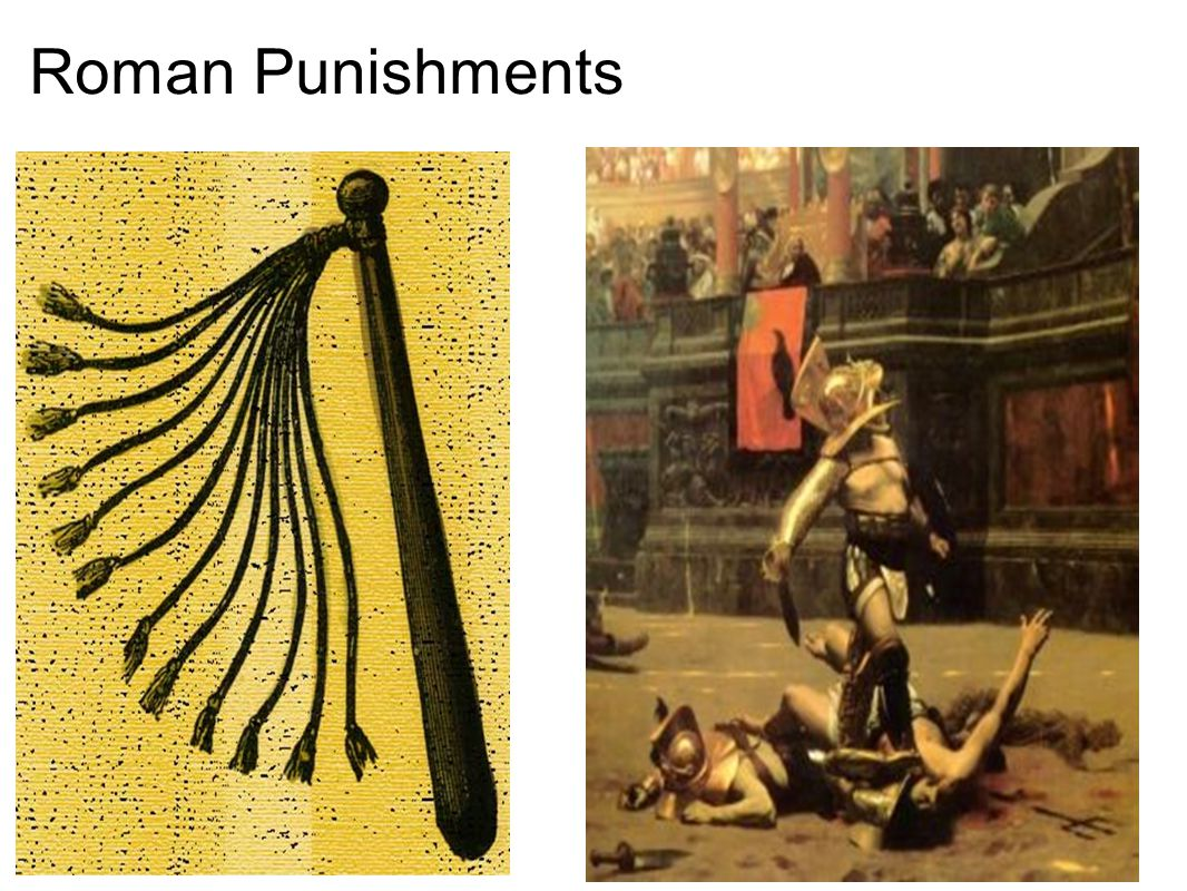 Roman Punishments